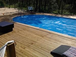 Bois Pour Terrasse Piscine : terrasse bois et piscine bois ~ Edinachiropracticcenter.com Idées de Décoration