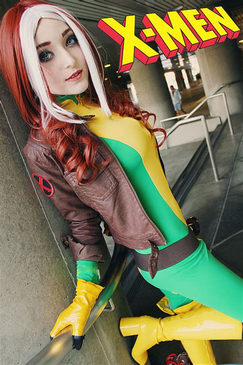 cosplay rogue superhero marvel xmen costume ever anime uncanny costumes attractive week collection female rogues cosplayers super geektyrant angry redhead
