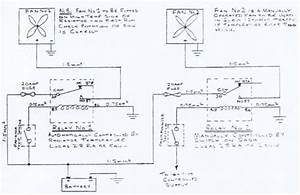 Circuit Diagram Of Electric Cooling Fan Installation
