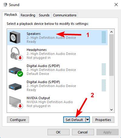 No Sound On Laptop Windows 10 Windows 10 No Sound Solved Driver Easy