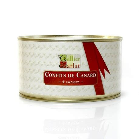 cuisiner cuisse de canard confite confit de canard 4 cuisses 1250g
