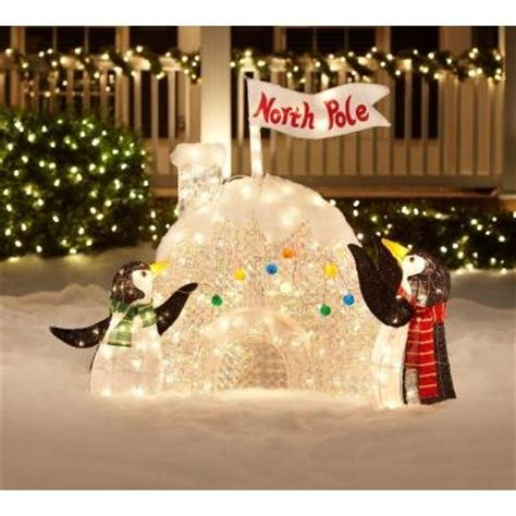 christmas penguin lighted yard displays christmas wikii