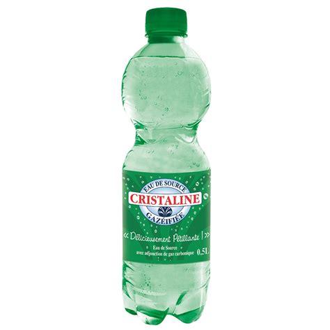 catalogue bruneau bureau eau gazeuse cristaline 50 cl de 24 eaux gazeuses