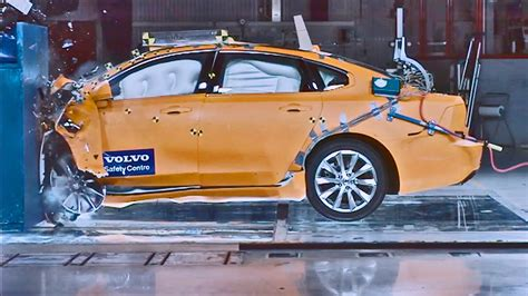 volvo   crash test youtube