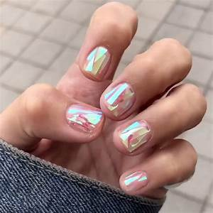 Clear Nail Designs With Flowers 23 Christmas Nail Inspirations To Stand Out At Every Party