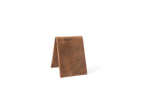 porte carte de bureau porte cartes de crédit en cuir vieilli k32