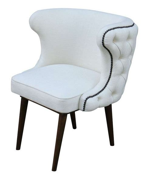 Kyrra Tufted Linen Wingback Dining Chair by Tufted Wingback Dining Chair Chairs Model