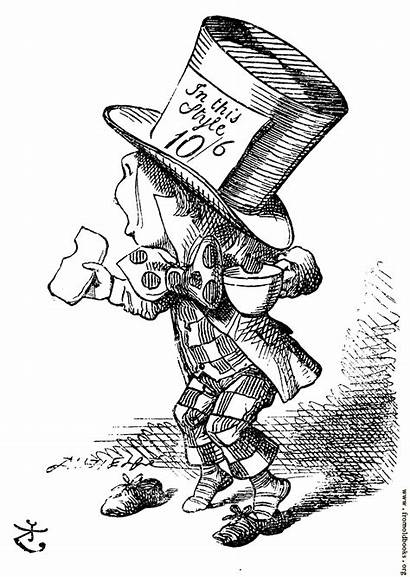 Hatter Mad Alice Pages Arrives Testify Hastily