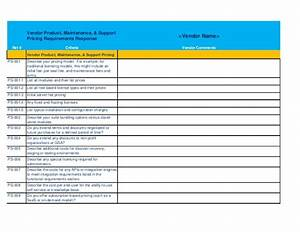 it service desk software rfp template With pricing schedule template