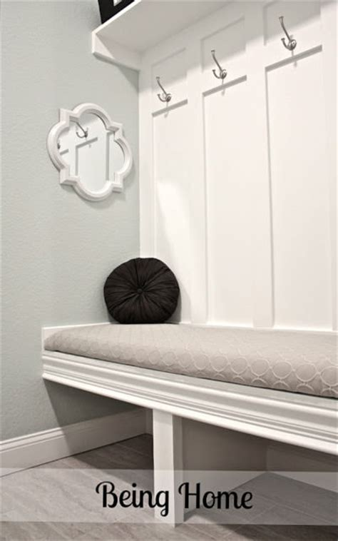 built in mudroom bench 15 diy entryway bench projects decorating your small space