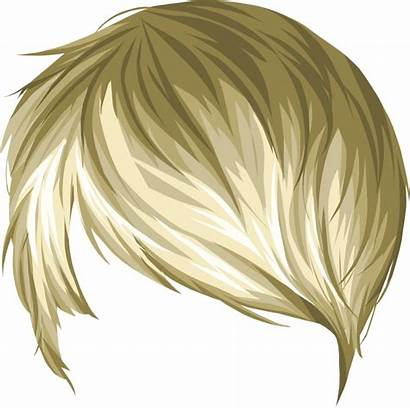 Hair Anime Transparent Stardoll Male Blond Coloring