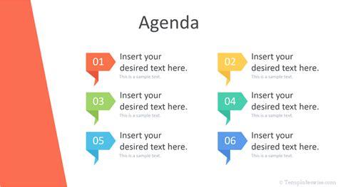 powerpoint agenda template templateswisecom