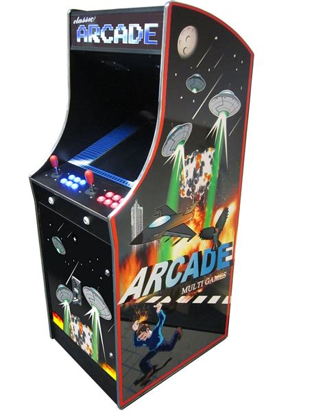 Cosmic Ii 412 In 1 Multi Game Arcade Liberty Games
