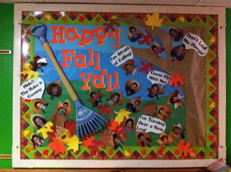 quot happy fall ya ll quot is a title for a fall bulletin 795 | 3a0ec680f0c73adb3d4a8d905c03a42a