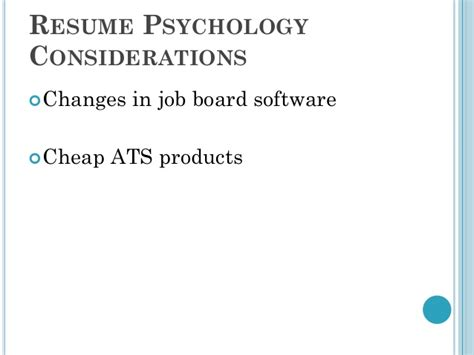 Resume Psychology Dirk Spencer by Dirk Spencer Resume Psychology The Watermark Lecture 2011
