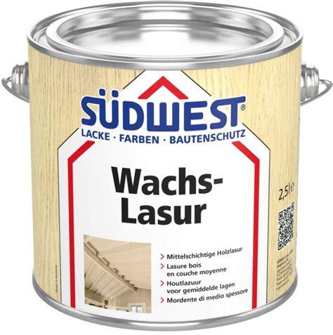Wachs Für Holz by Farbenhaus Schupp S 220 Dwest Wachs Lasur F 252 R Holz