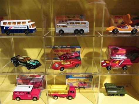 the matchbox car exhibit picture of museum of decorative arts in prague prague
