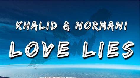 Love Lies (lyrics / Lyric Video)
