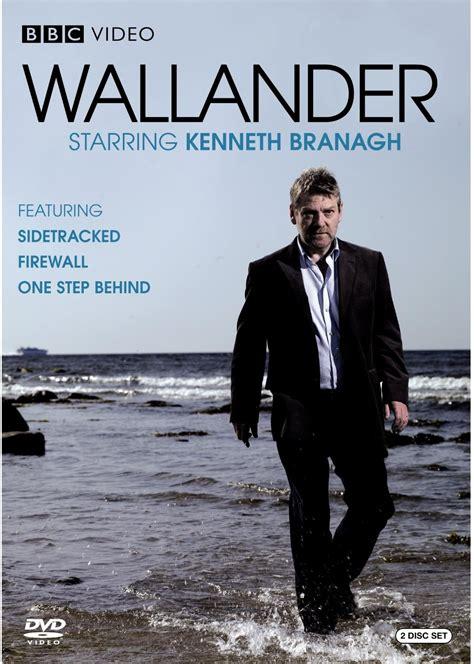 wallander series branagh kenneth dvd kurt behind step bbc sweden mankell sidetracked firewall british books ystad malin griffiths emma swedish