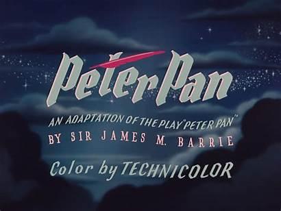 Pan Peter 1953 Disney Walt Title Film