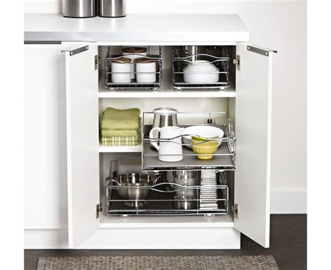 simplehuman 14 in pull out cabinet organizer simplehuman 14 inch pull out cabinet organizer