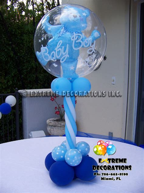 balloons baby shower centerpieces balloon centerpieces for boy baby shower sorepointrecords