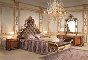 la suspension baroque une note deco classique With chambre a coucher baroque