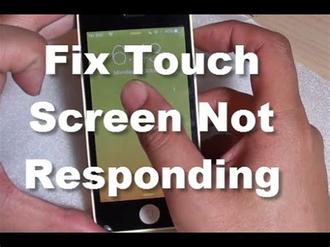 why is my iphone touch screen not working iphone fix touch screen is not responding properly