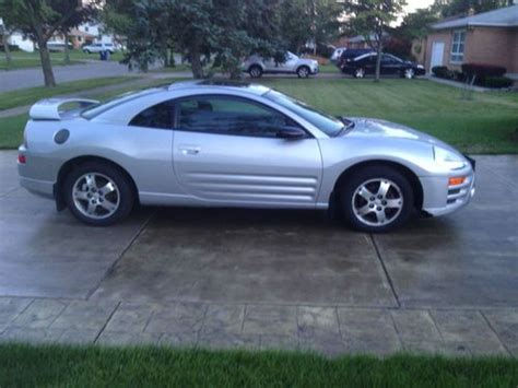 Mitsubishi 4 Door Cars by Sell Used Silver Mitsubishi Eclipse 2 Door Sports Car New