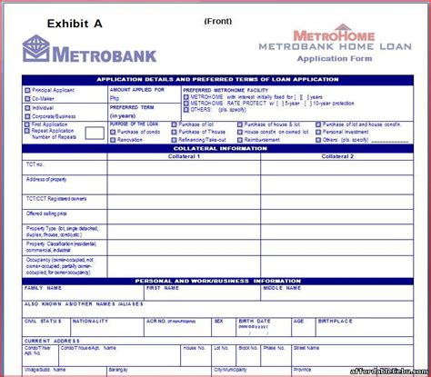 metrobank cash loan  collateral tx born loansusa