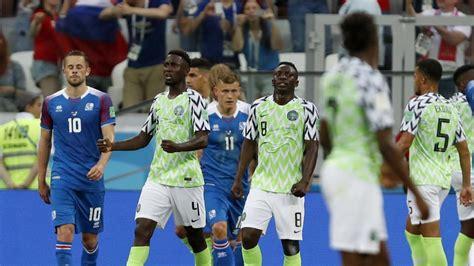 Fifa World Cup Nigeria Iceland Highlights