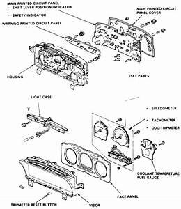 How Do I Replace The Speedometer On  U0026 39 91 Honda Accord