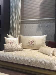 Salon Marocain Blanc : salon marocain blanc cass chic amenda decor salon ~ Nature-et-papiers.com Idées de Décoration