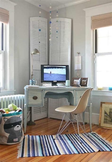 deco design bureau déco bureau à domicile 35 idées de style shabby chic