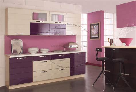 cuisine violet cuisine violet vert