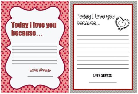 9 Best Images Of Printable Valentine Letter Templates