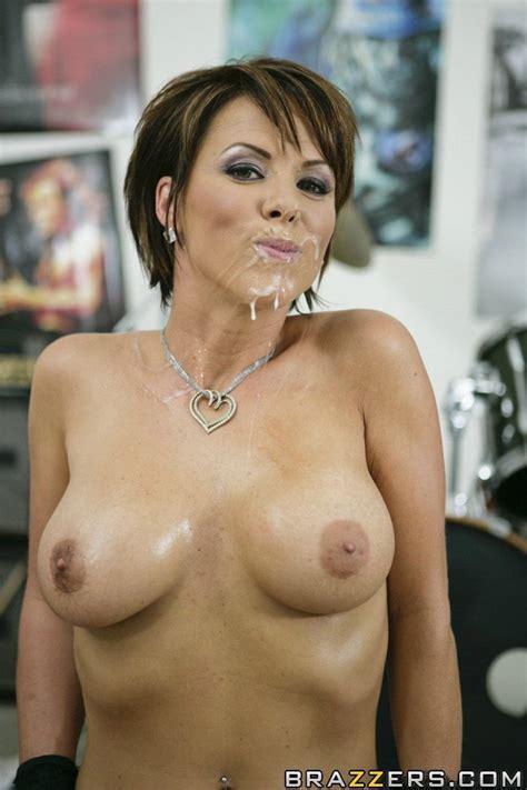 Pornstar Milf Kayla Synz With Big Tits Sucking A Huge Cock
