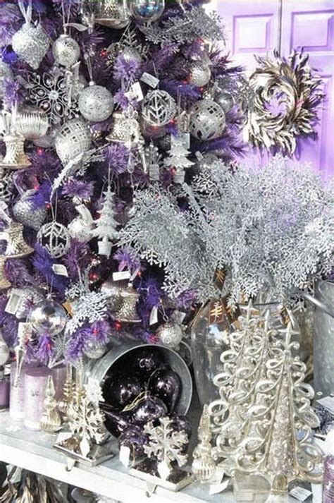 121 best purple christmas images on pinterest purple