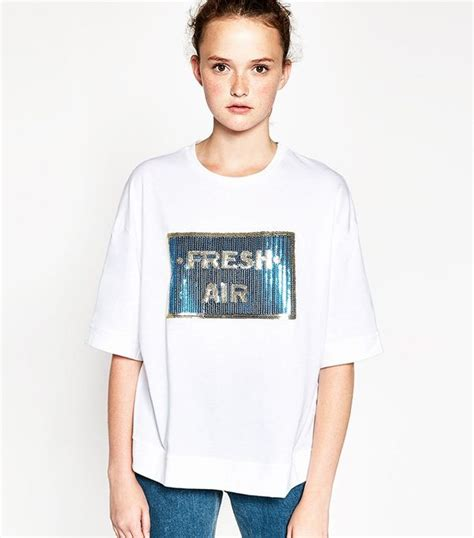 zara s new t shirt trend is about to be all instagram