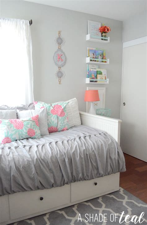 Big Girl Room, The Reveal!  A Shade Of Teal