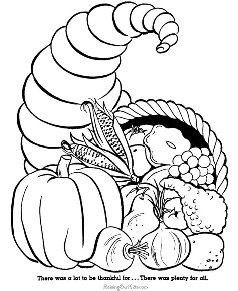HD wallpapers cornicopia coloring page