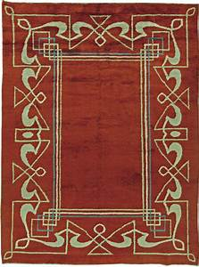 Vintage Art Deco Rug BB5832 by Doris Leslie Blau