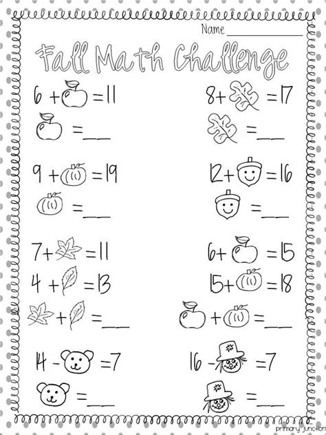 fun math worksheets  print activity shelter