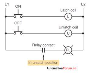 Plc Programming Latching Relays Instrumentation