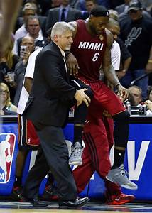 The science of why LeBron cramped up during last night's ...