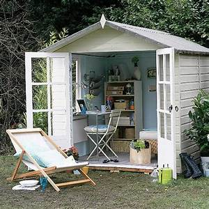12 stylin39 shed ideas for your backyard for Outdoor office space