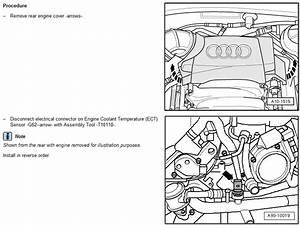 Replacing The Engine Coolant Temperature Sensor  Ect
