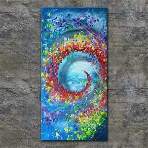 Gemalte Bilder Auf Leinwand : nettis art acrylbild kunst leinwand handgemalt malerei ~ A.2002-acura-tl-radio.info Haus und Dekorationen