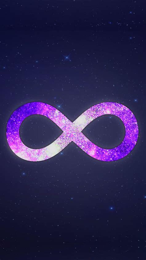 galaxy infinity sign infinity