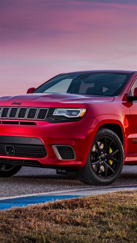 wallpaper jeep grand cherokee trackhawk  automotive